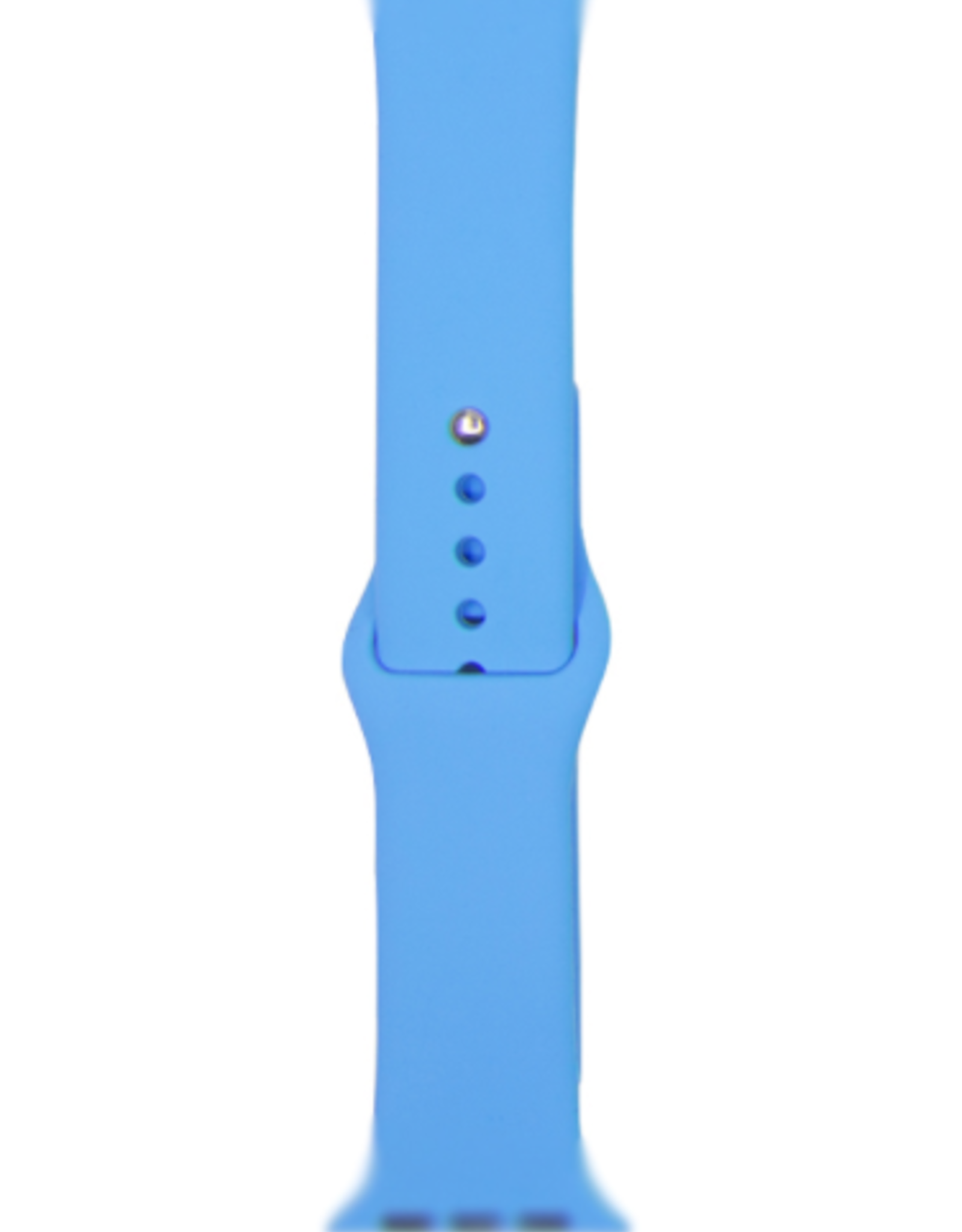 Classic silicone replacement band strap for Apple Watch band series 6 5 4 3 2 1 Band Color:# 22 blue,Band Width:42/44mm M/L