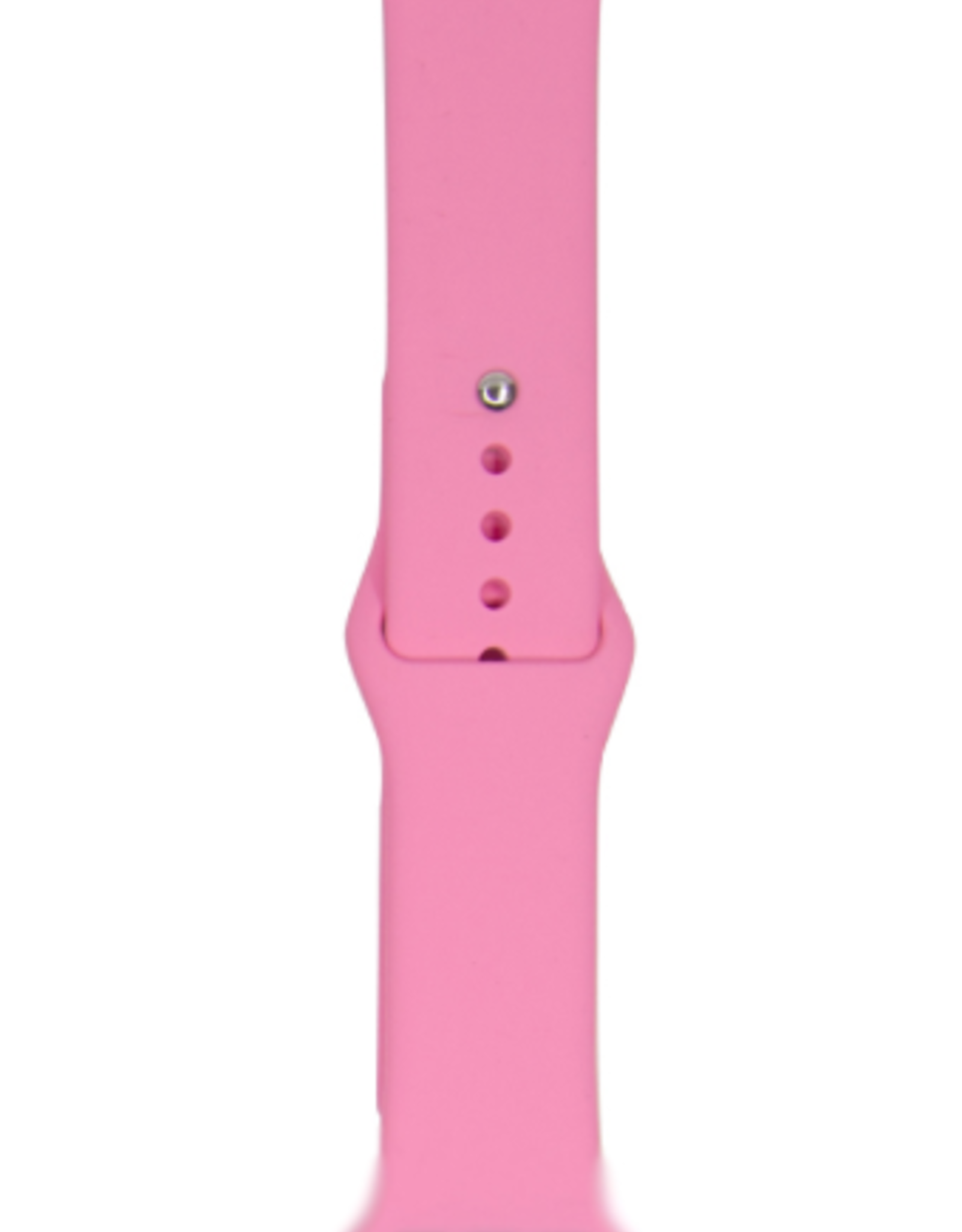 Classic silicone replacement band strap for Apple Watch band series 6 5 4 3 2 1 Band Color:# 6 light pink,Band Width:42/44mm M/L