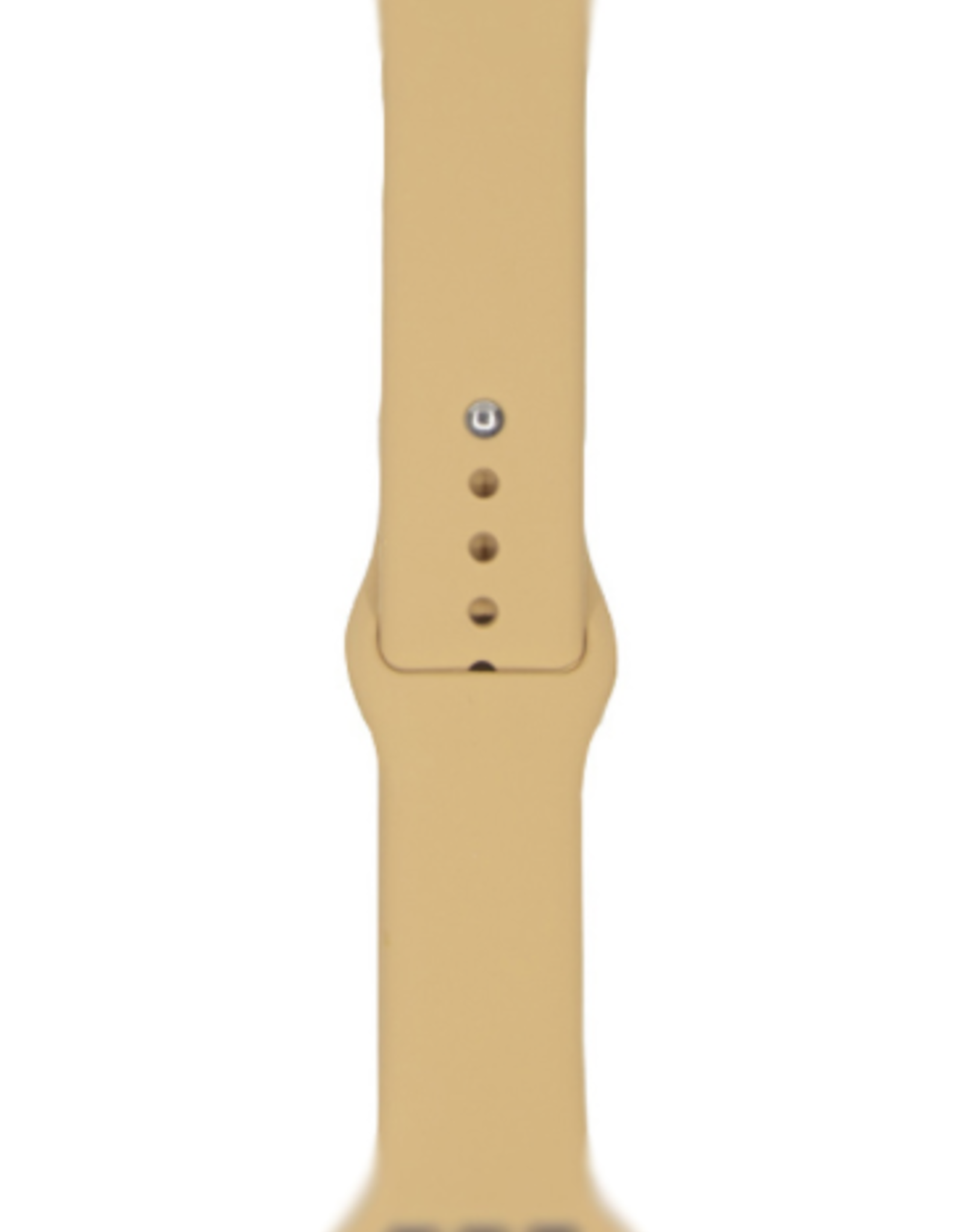 Classic silicone replacement band strap for Apple Watch band series 6 5 4 3 2 1 Band Color:# 34 nut Brown,Band Width:38/40mm M/L