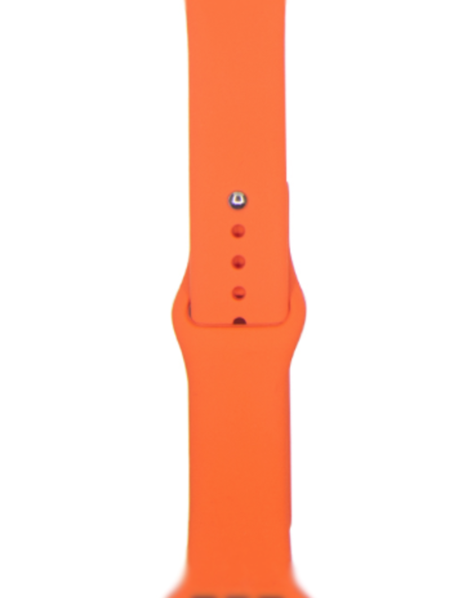 Classic silicone replacement band strap for Apple Watch band series 6 5 4 3 2 1 Band Color:# 24 apricot,Band Width:38/40mm S/M