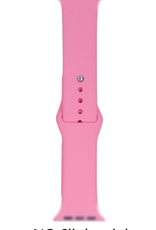 Silicone band for Apple Watch Color# 6 Light Pink 38/40mm S/M