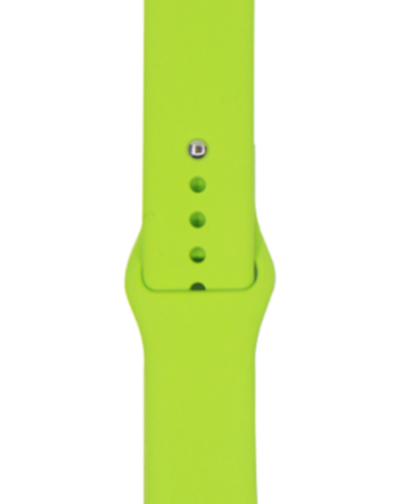 Classic silicone replacement band strap for Apple Watch band series 6 5 4 3 2 1 Band Color:# 32 green,Band Width:38/40mm S/M