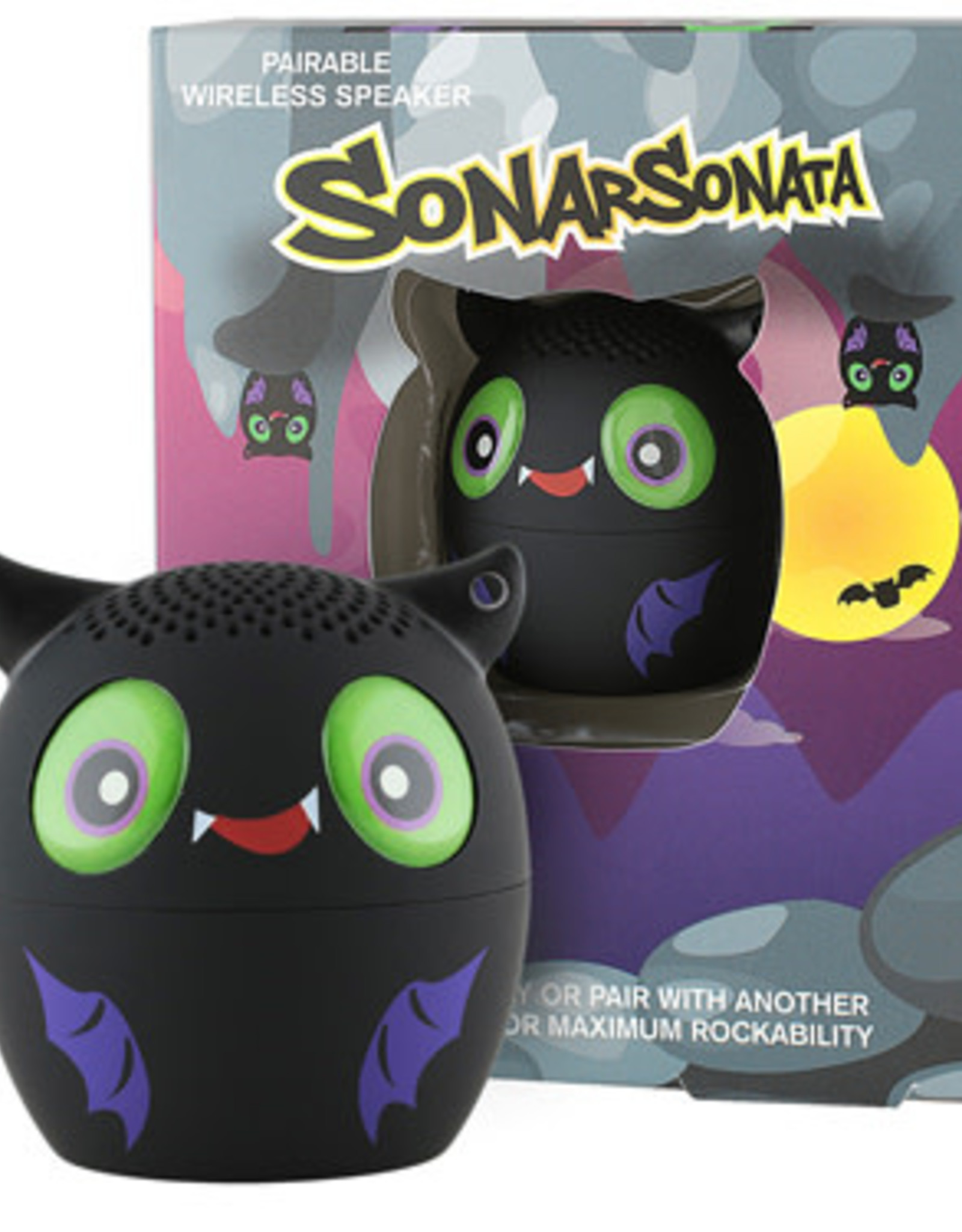 My Audio Pet My Audio Pet Bluetooth Speaker Bat – Sonar Sonata