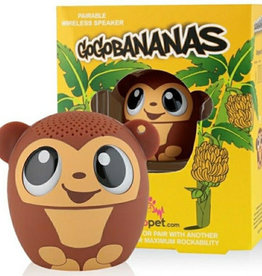 My Audio Pet My Audio Pet Bluetooth Speaker Monkey – GoGo Bananas