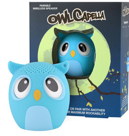 My Audio Pet My Audio Pet Bluetooth Speaker Owl Blue – OwlCappela