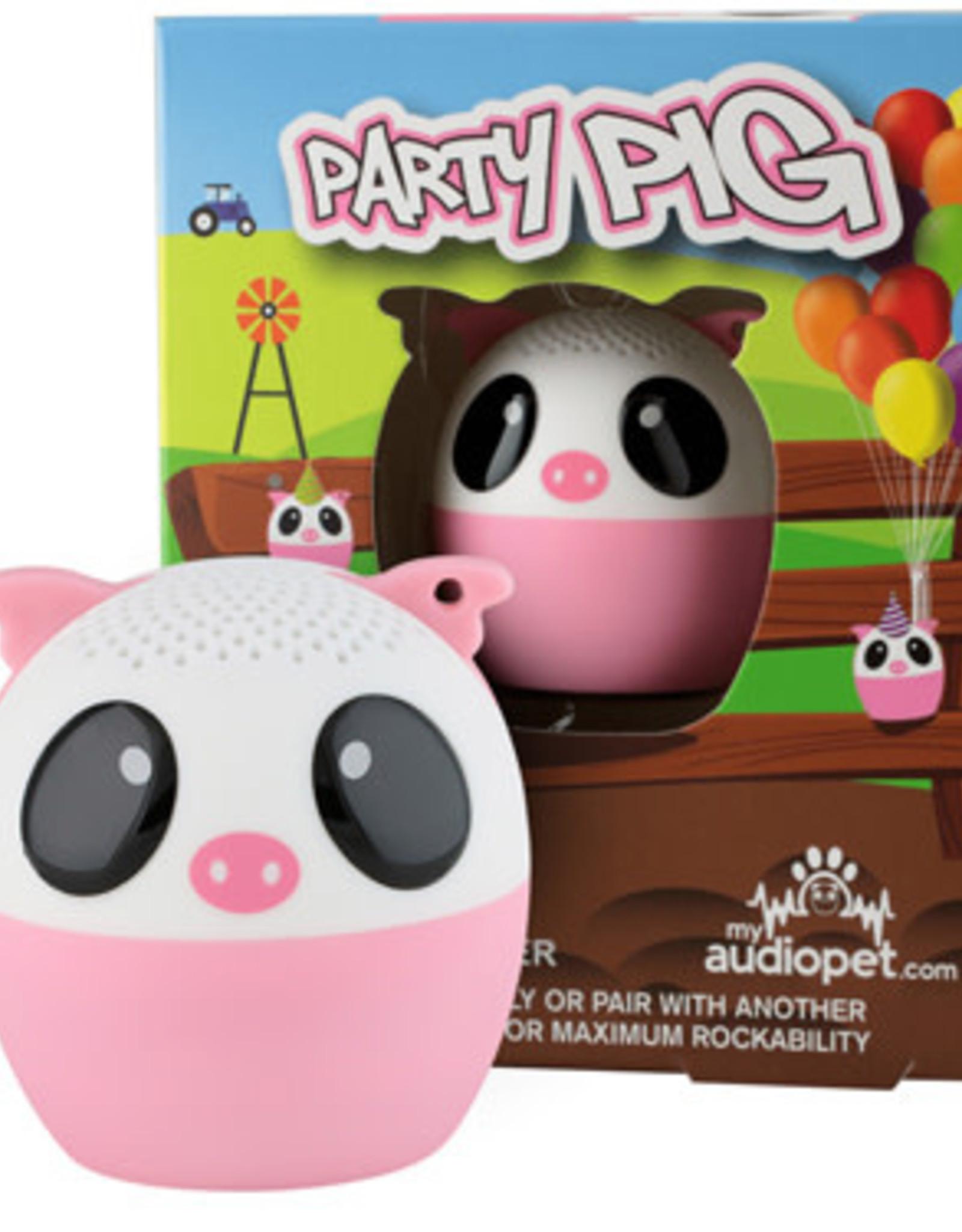 My Audio Pet My Audio Pet Bluetooth Speaker Pig – Party Pig