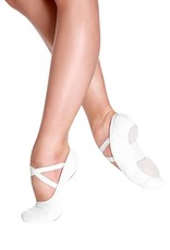 ADULT SD16 STRETCH CANVAS SPLIT SOLE BALLET SLIPPER