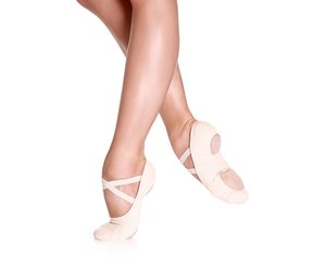 Adult Sd16 Stretch Canvas Split Sole Ballet Slipper