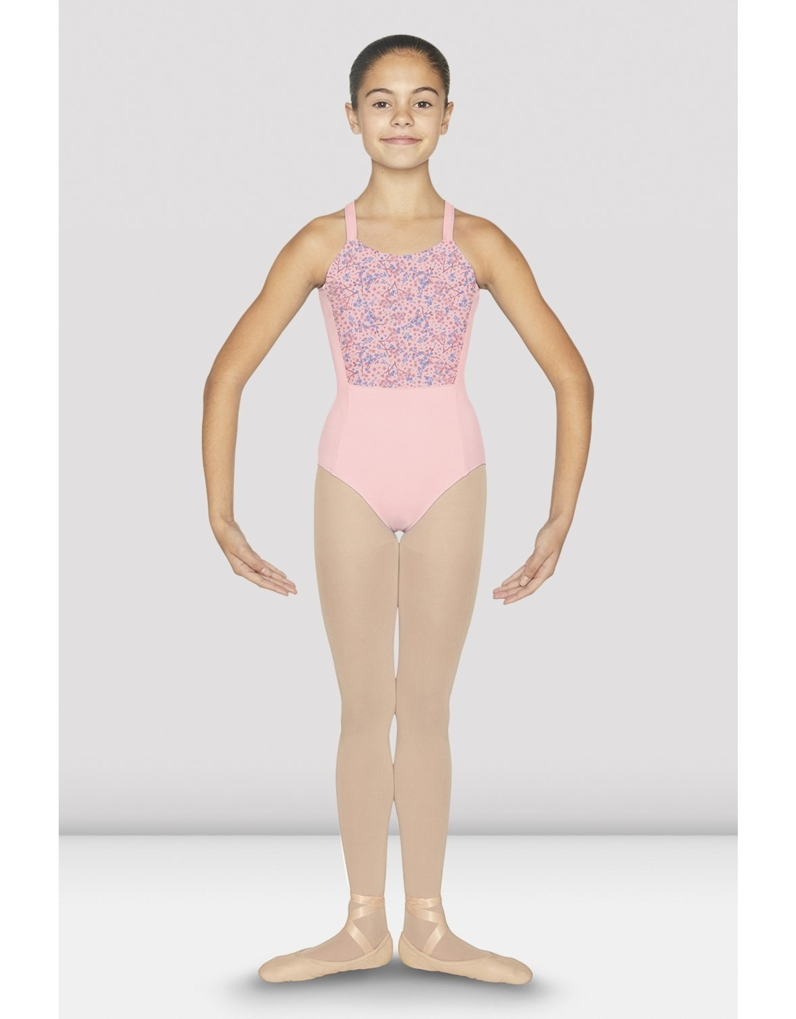 BLOCH LAINA LOOP BACK WIDE CAMISOLE LEOTARD