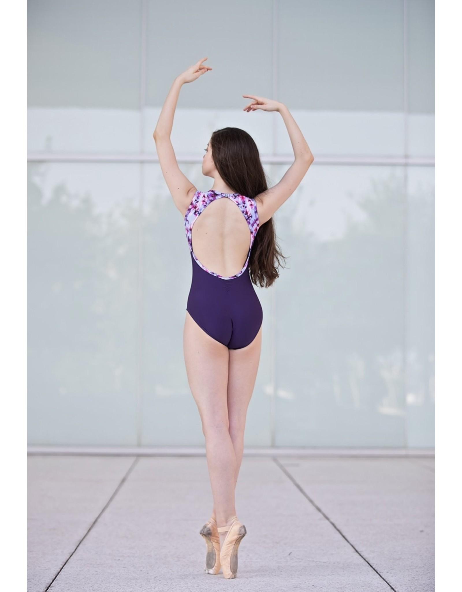 CHIC BALLET DANCEWEAR CAROLINE LEO IN ROSEY BLOOM