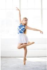 CHIC BALLET DANCEWEAR BRIANNA LEOTARD IN BLUE BLOSSOM