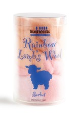 BUNHEADS RAINBOW LAMB'S WOOL