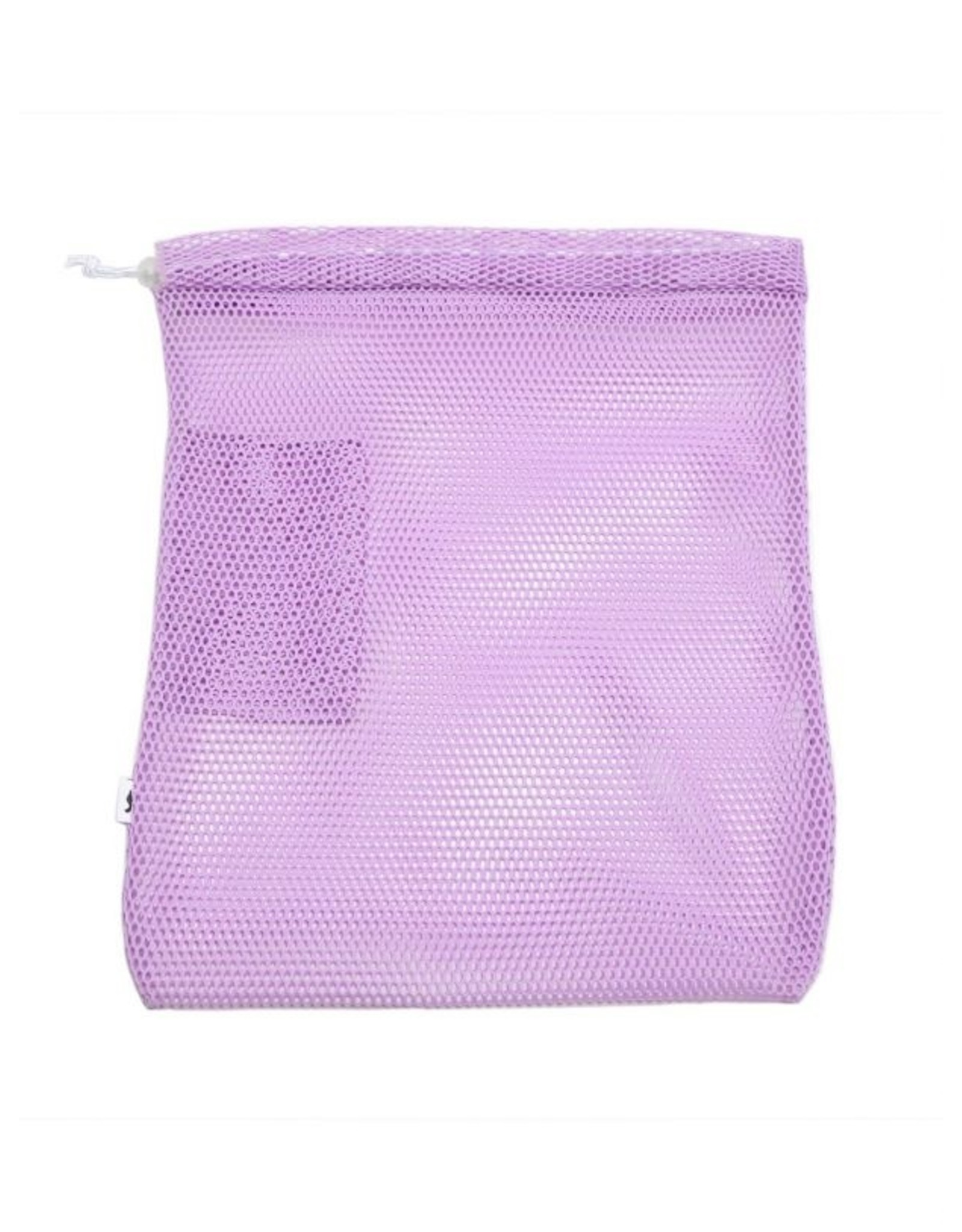 COLORED MESH BAG WITH DRAWSTRING
