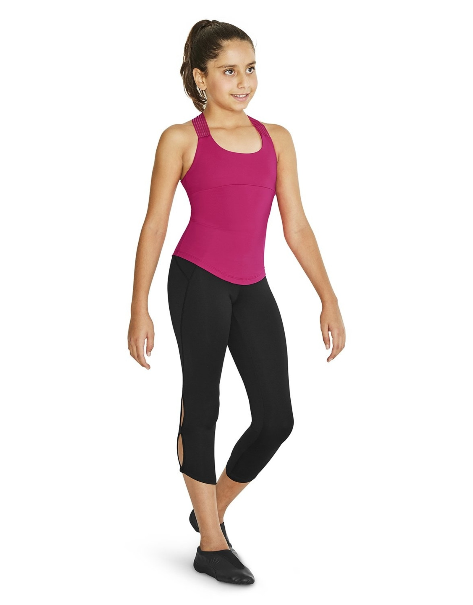 BLOCH GIRL'S CROSS BACK TANK TOP