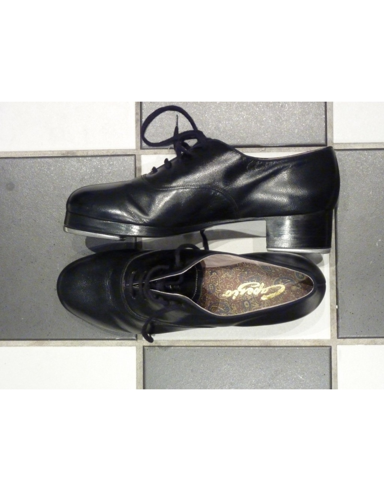 CAPEZIO K360 US MADE WITH DOUBLE FACTORY BUILD, RUBBERS AND TAPS