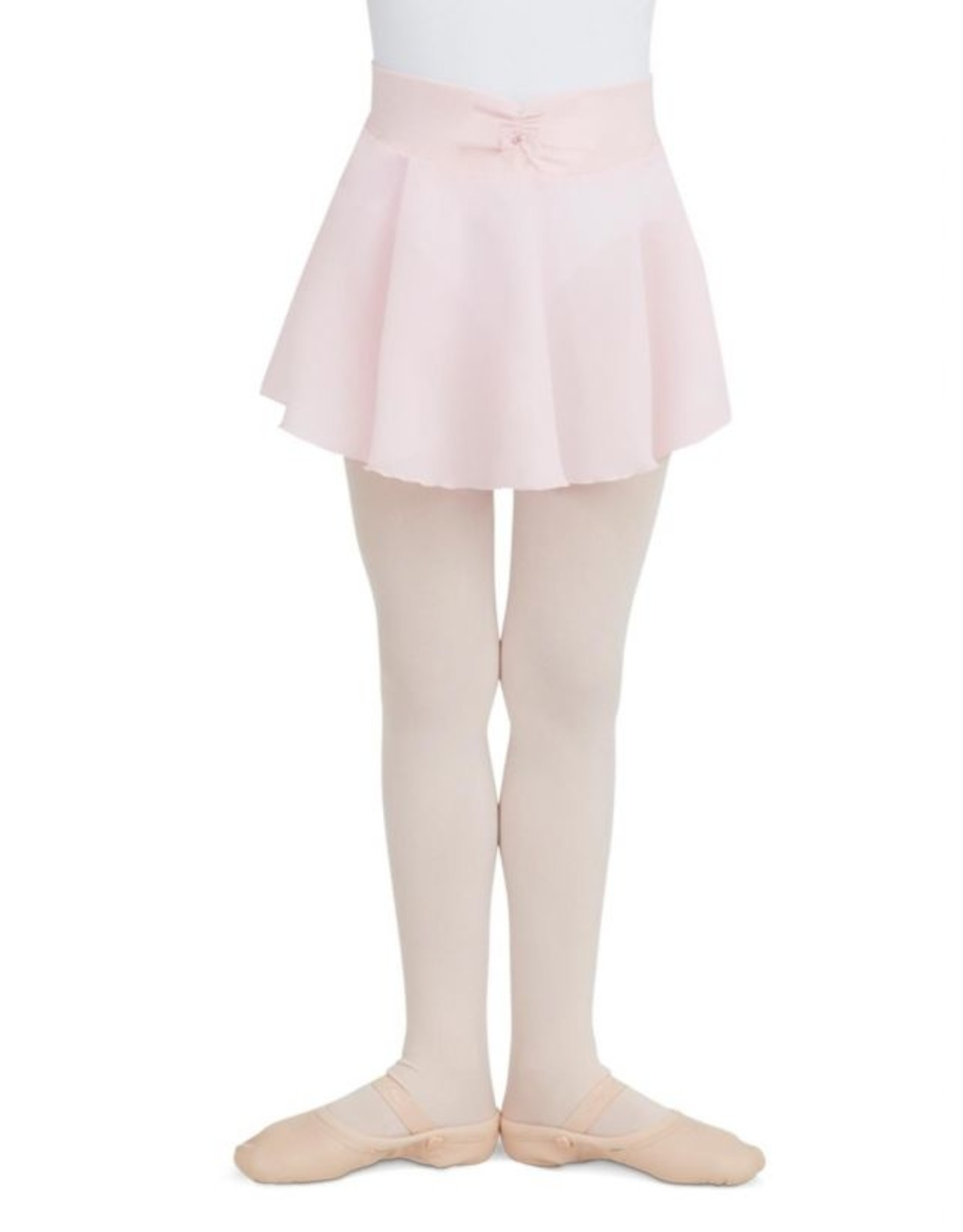 CAPEZIO  CHILDREN'S PULL ON GEORGETTE SKIRT WITH BOW