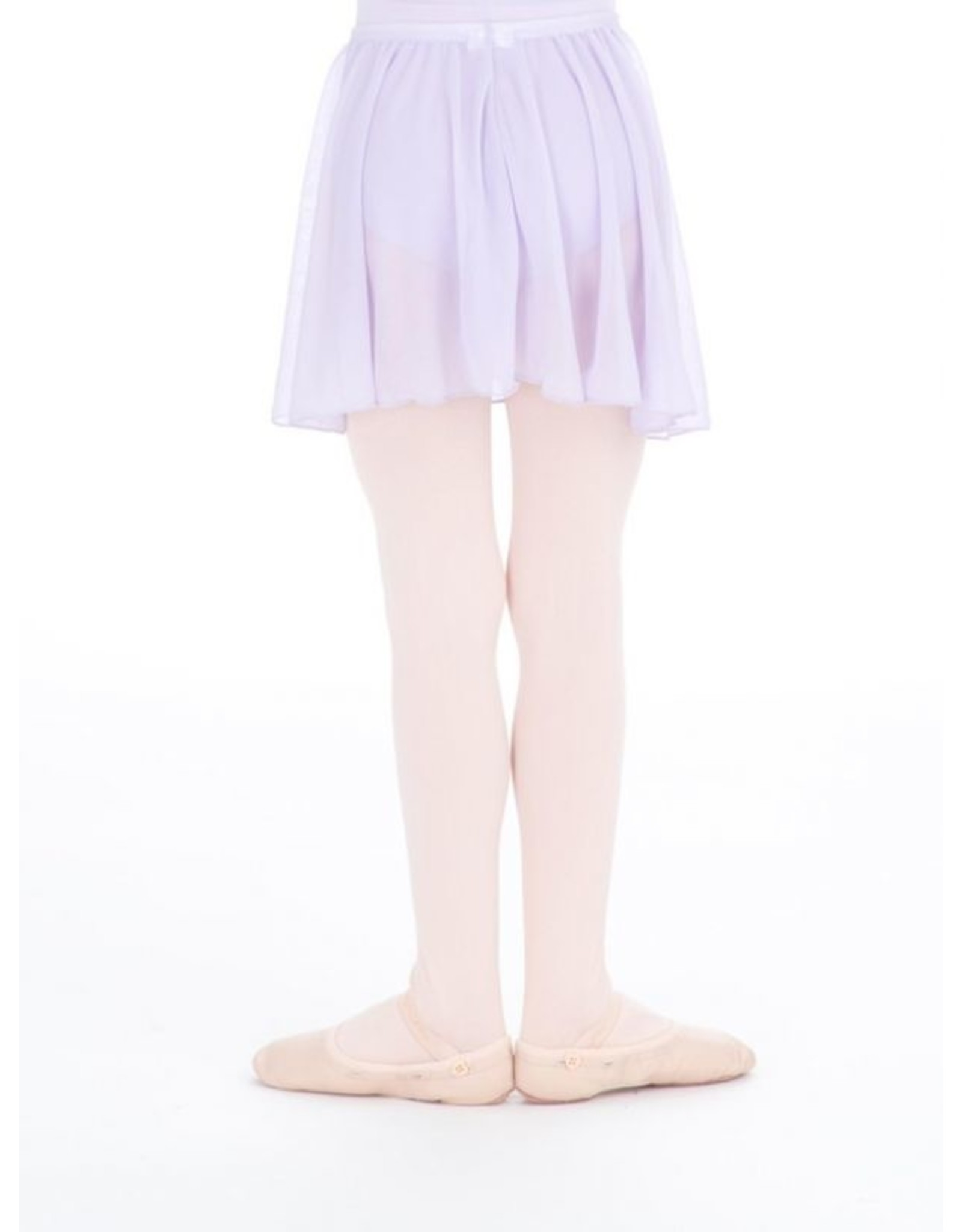 CAPEZIO CHILDREN'S PULL ON CIRCULAR SKIRT WITH BOW