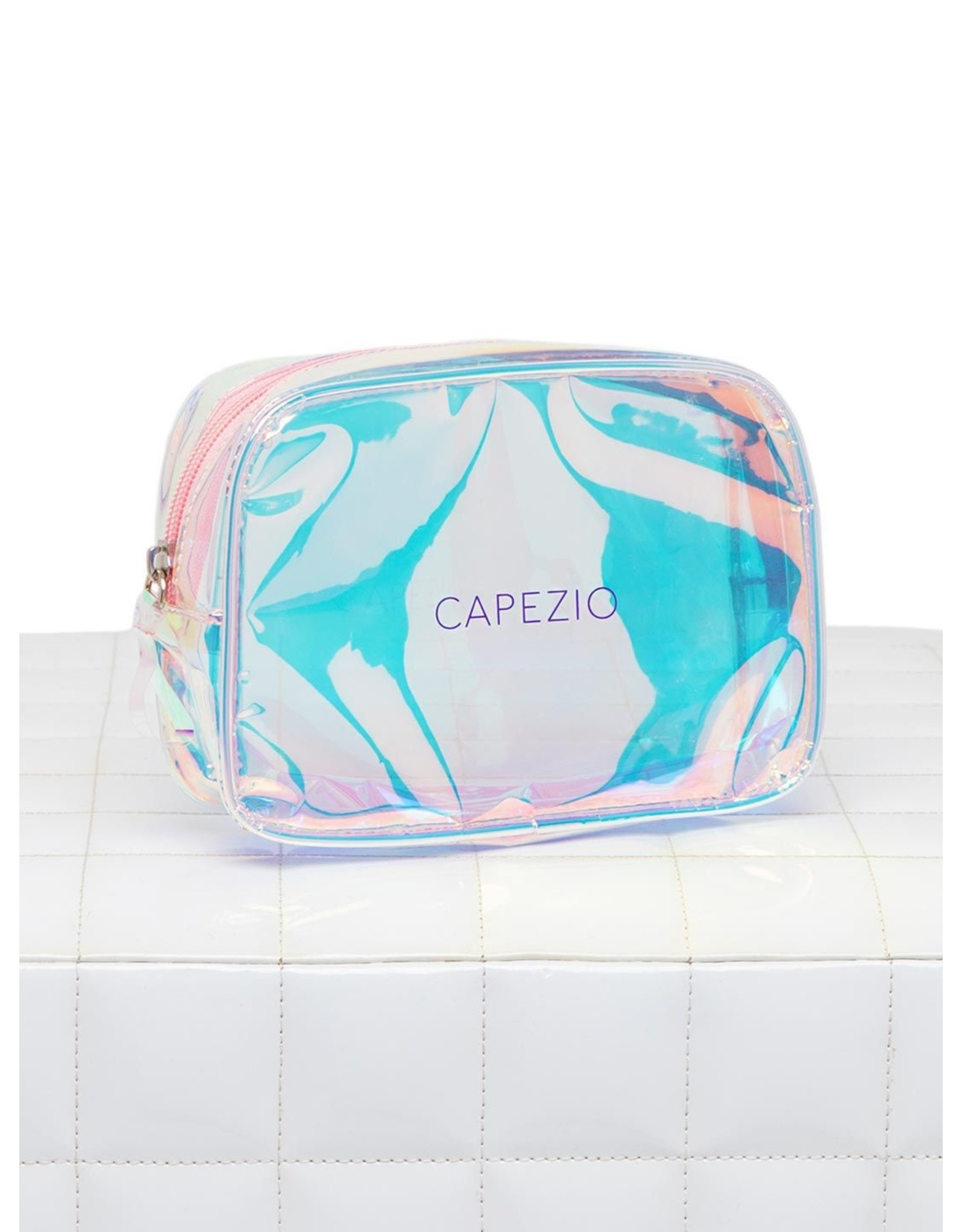 CAPEZIO HOLOGRAPHIC MAKEUP BAG