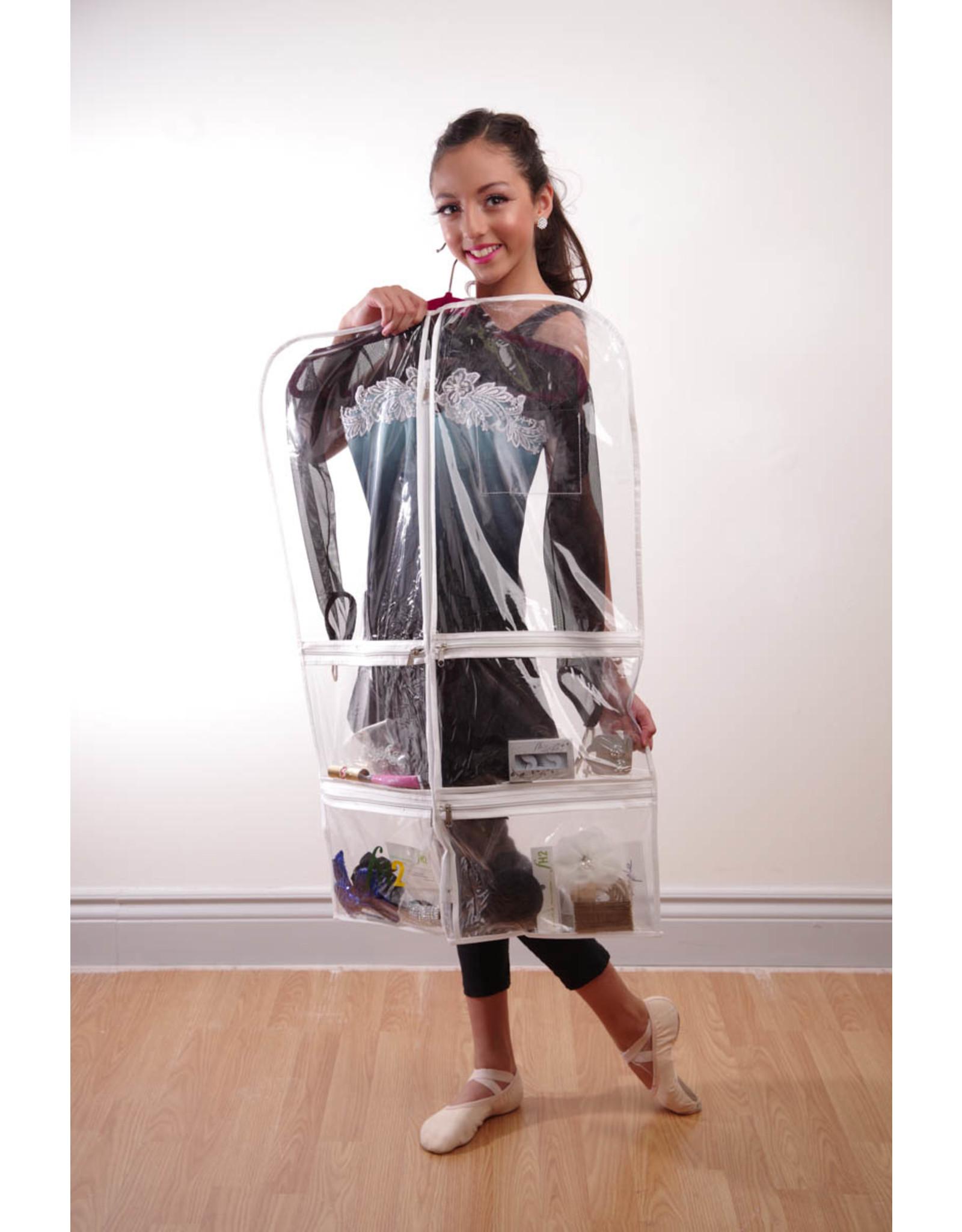 FH2 CLEAR GARMENT BAG