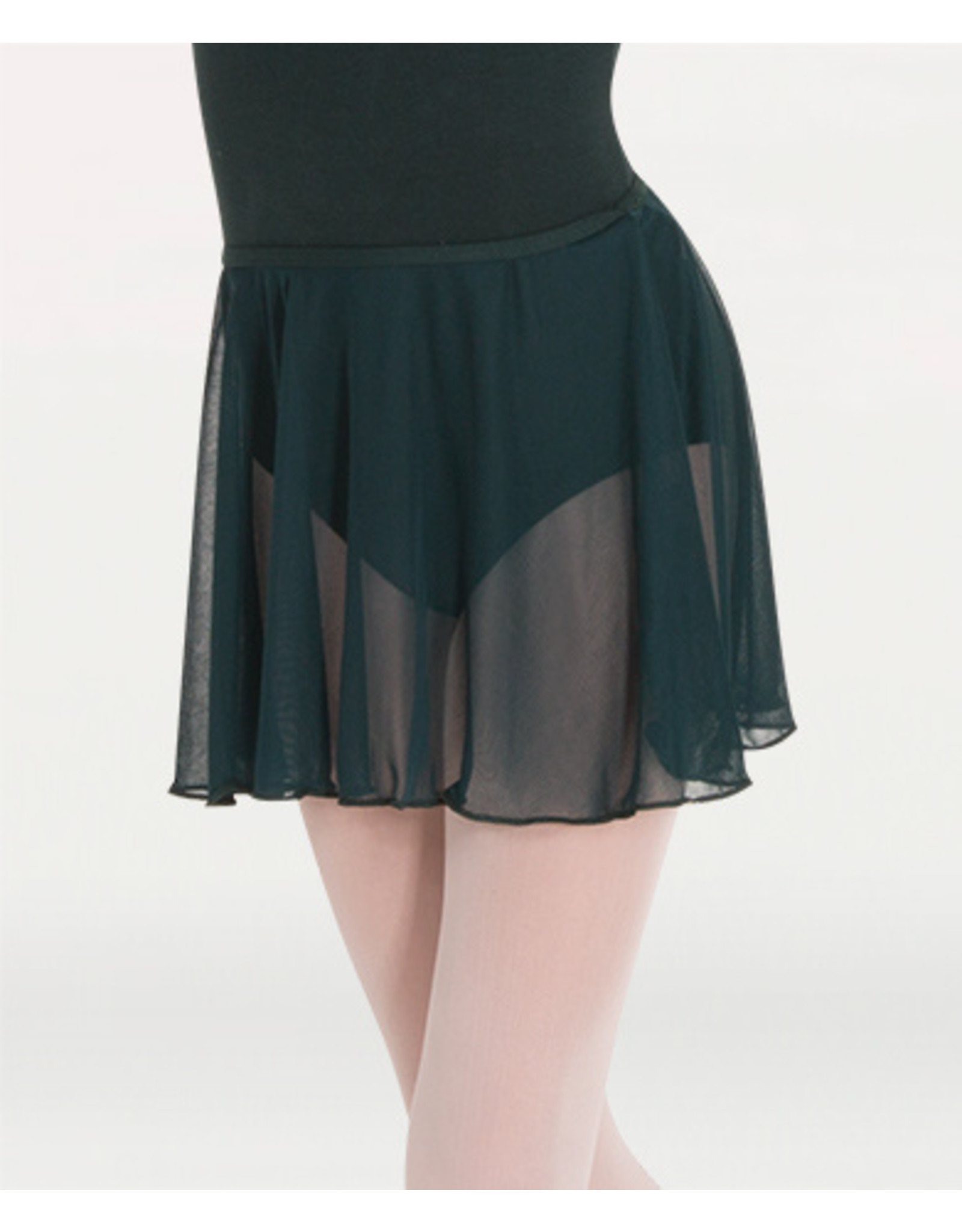 BODYWRAPPERS CHIFFON PULL-ON DANCE SKIRT