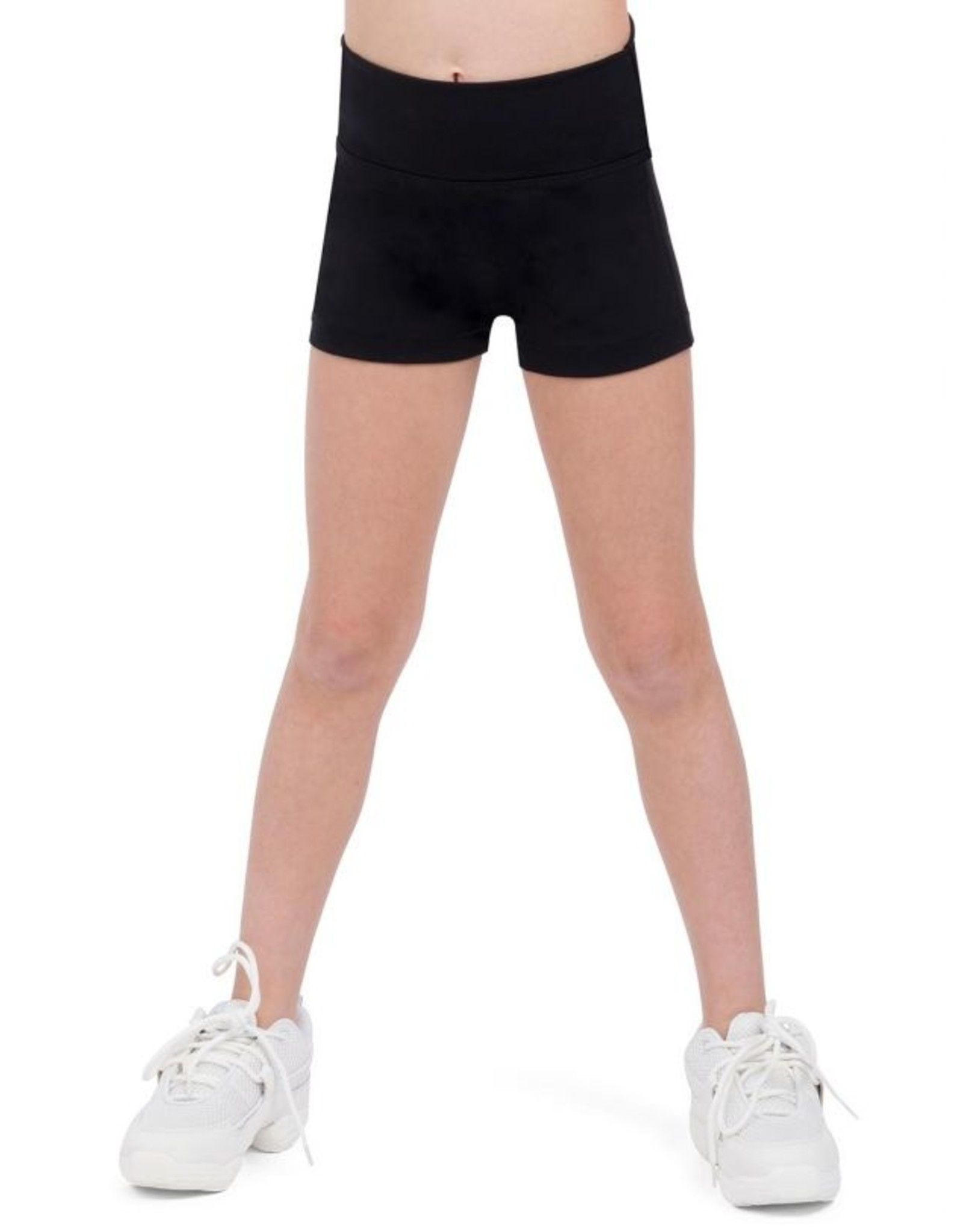 CAPEZIO GIRLS HIGH WAISTED SHORT - TB131C