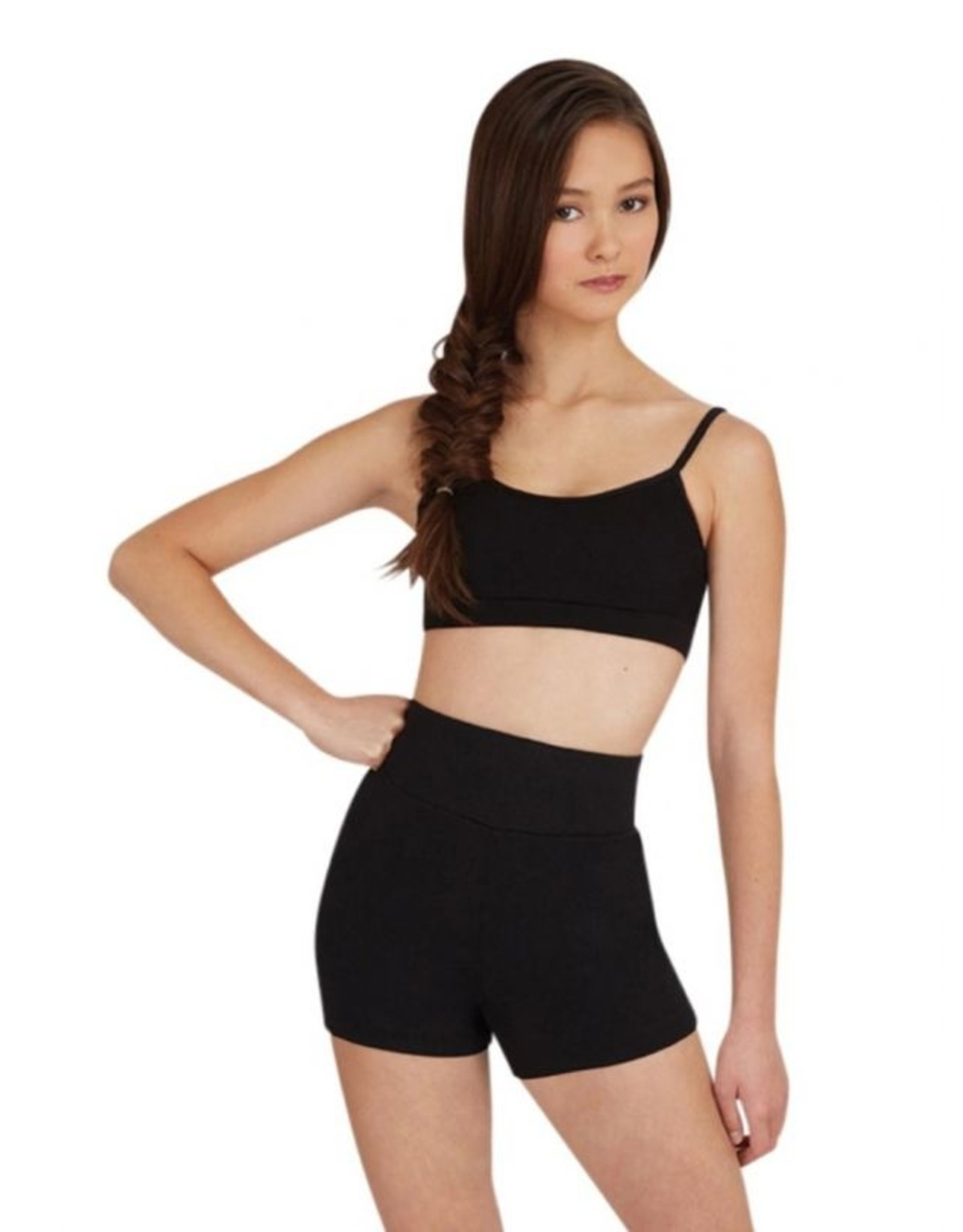 CAPEZIO ADULT HIGH WAISTED SHORT - TB131