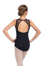 AINSLIEWEAR GIRLS PAIGE LEOTARD WITH MESH