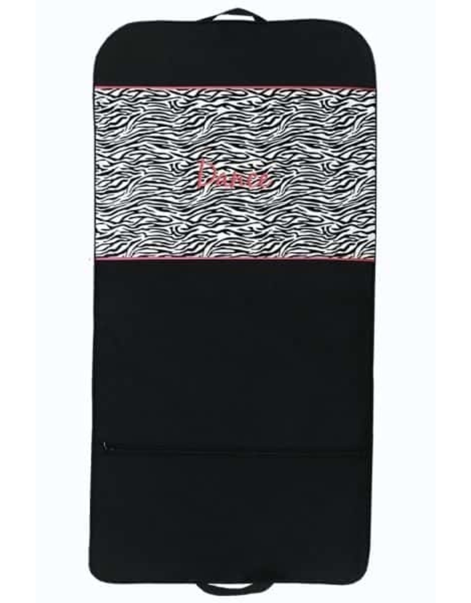 SASSI ZEBRA GARMENT BAG