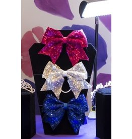 SEQUIN HAIR BOW