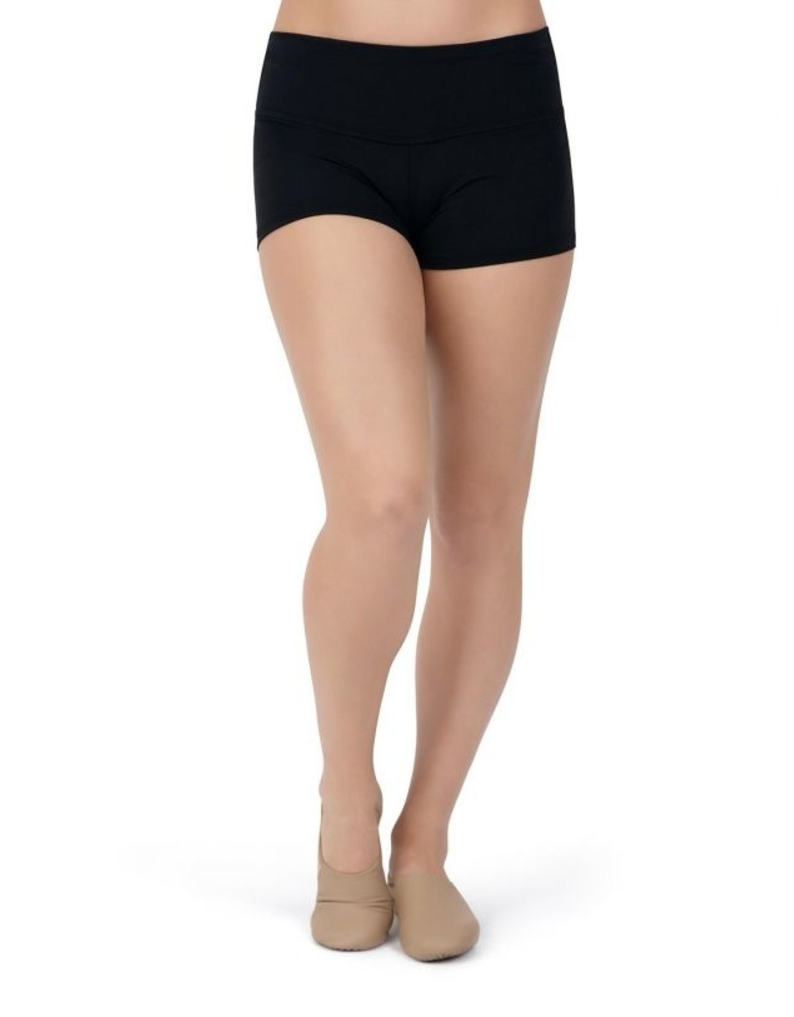 CAPEZIO WIDE WAISTBAND ADULT SHORT - TB130