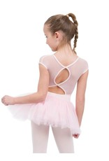 CAPEZIO KEYHOLE BACK TUTU DRESS WITH MESH