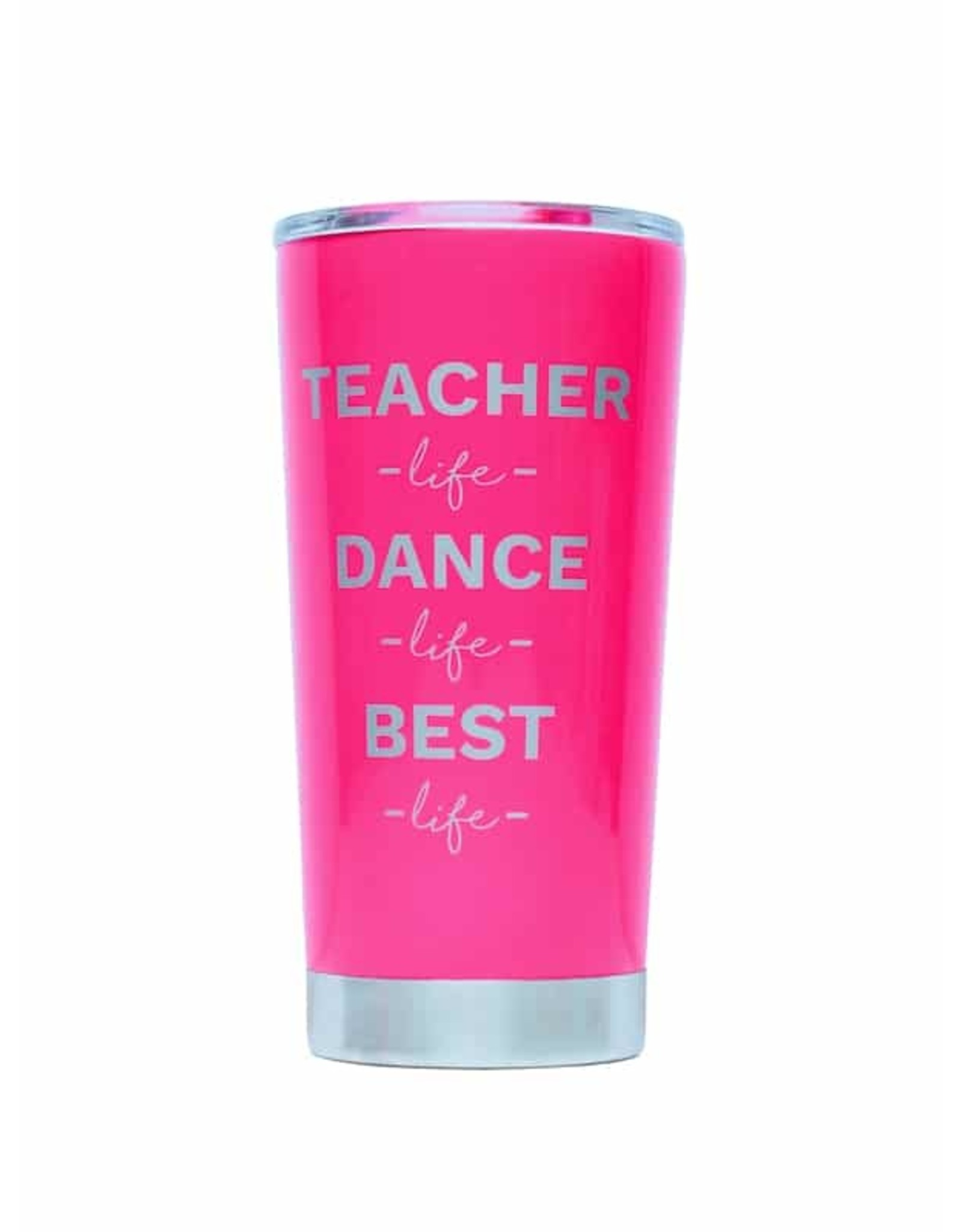 SUGAR AND BRUNO TEACHER CUP NEON PINK