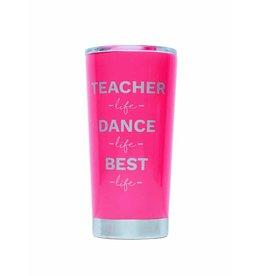 TEACHER CUP NEON PINK