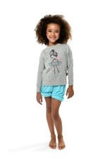 SUGAR AND BRUNO YOUTH O/S CREW NECK TEE