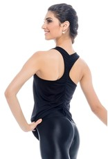 SO DANCA ADULT TANK WITH DRAWSTRING BACK