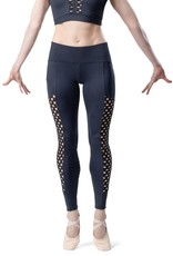 SO DANCA HONEYCOMB MESH LEGGING