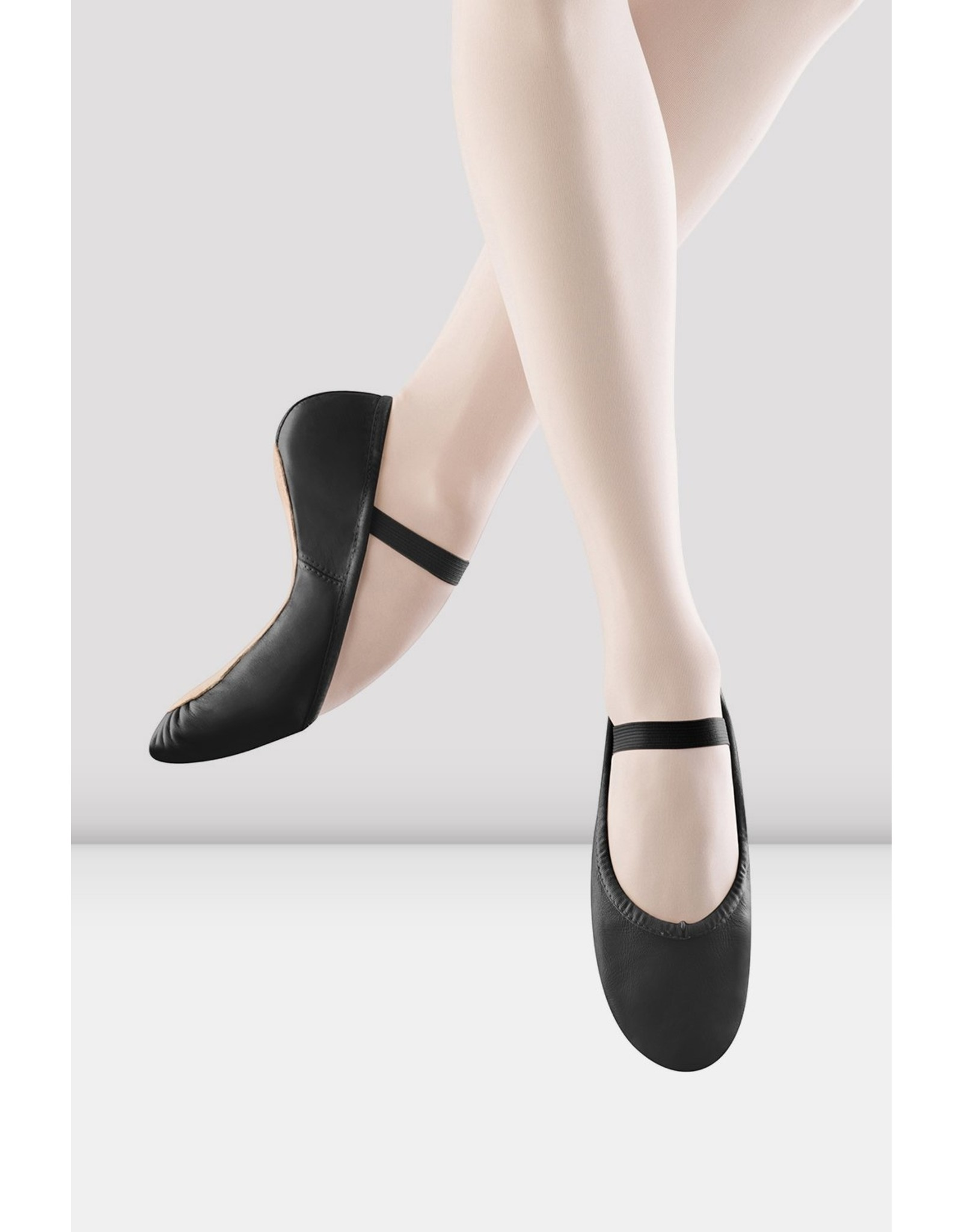 ADULT BLOCH FULLSOLE LEATHER SLIPPER