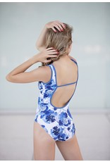 CHIC BALLET DANCEWEAR CO. CHIC BALLET DANCEWEAR BRIANNA FLORAL LEOTARD