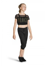 BLOCH PERFORATED CROP PANT