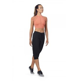 PERFORATED CROP PANT - ADULT