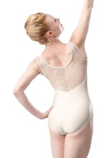 SO DANCA LACE SHOULDER TANK LEOTARD