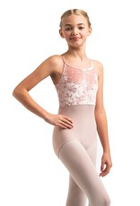 AINSLIEWEAR LIBERTY LEOTARD WITH CRUSHED VELVET