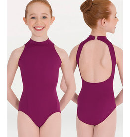 MOCKNECK OPEN BACK LEOTARD