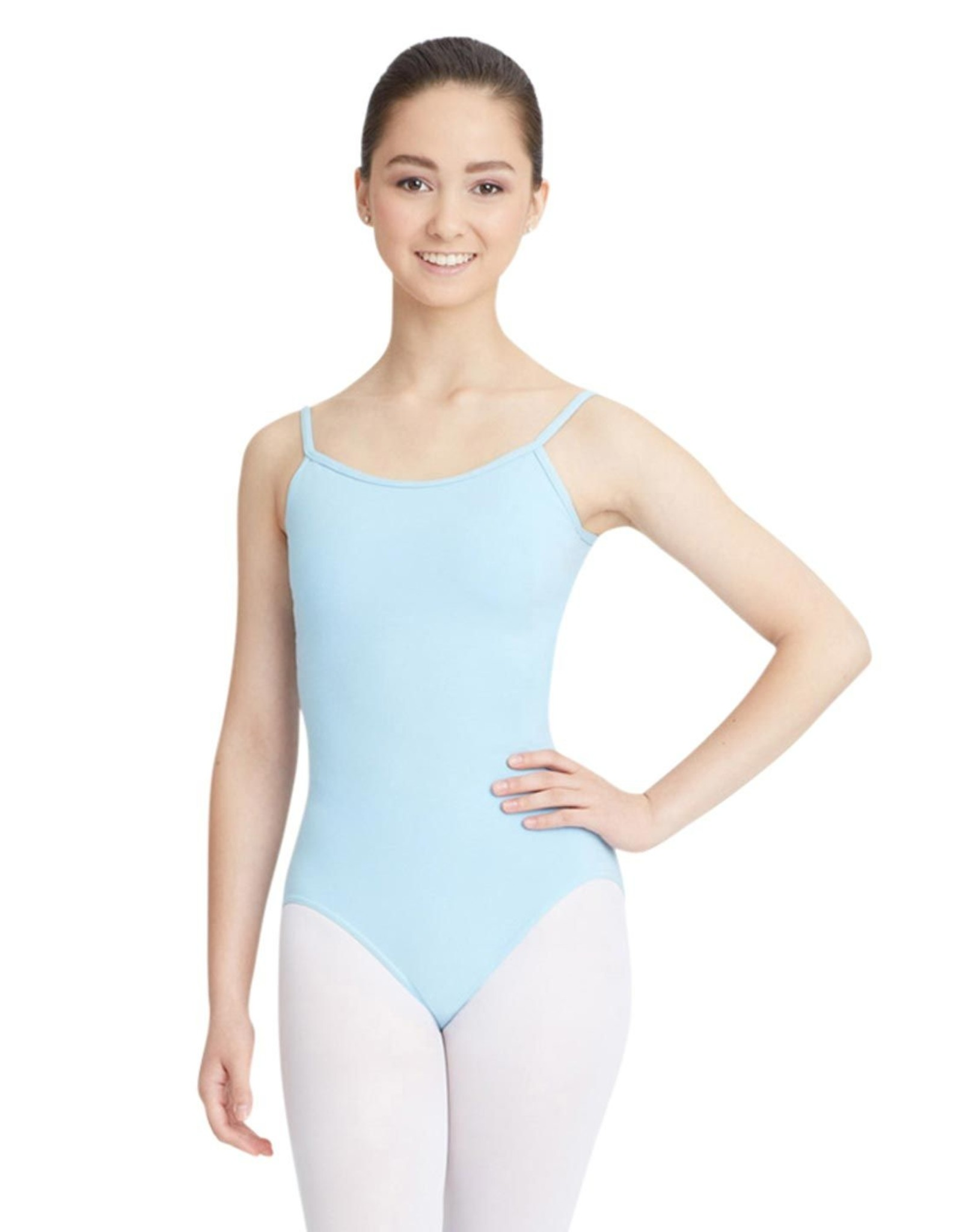 CAPEZIO CHILD COTTON CAMI LEOTARD