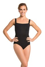 AINSLIEWEAR SQUARE NECK LEOTARD