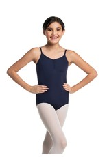GIRLS PRINCESS STRAP LEOTARD WITH PINCH