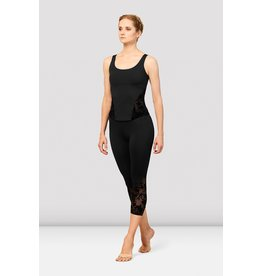 BLOCH OPEN BACK ADULT TOP