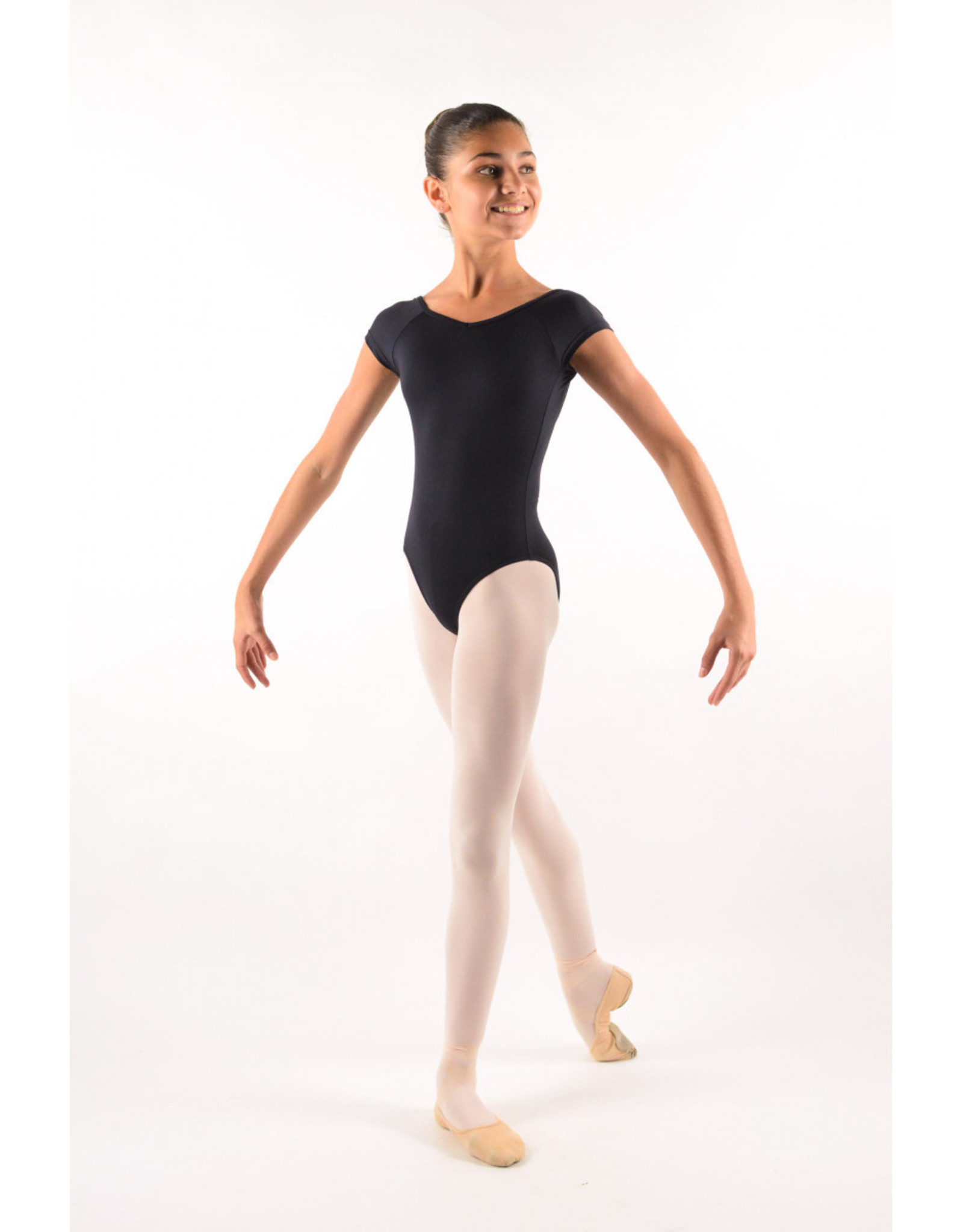 BALLET ROSA BALLET ROSA FRIDA YOUTH CAP SLEEVE LEOTARD