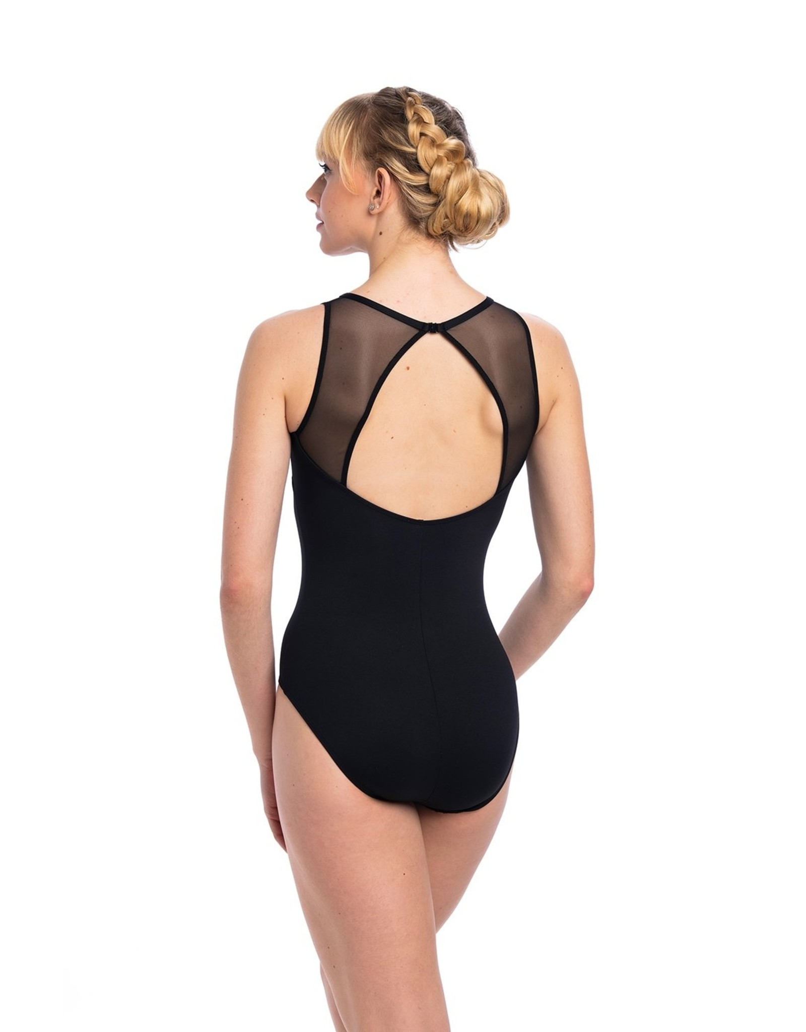 AINSLIEWEAR PAIGE LEOTARD WITH MESHW
