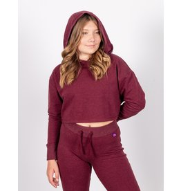JILL YOGA YOUTH CROP  HOODIE